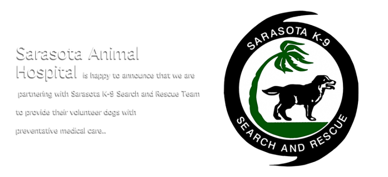 Sarasota Animal Hospital - Sarasota K-9 Search and Rescue Team